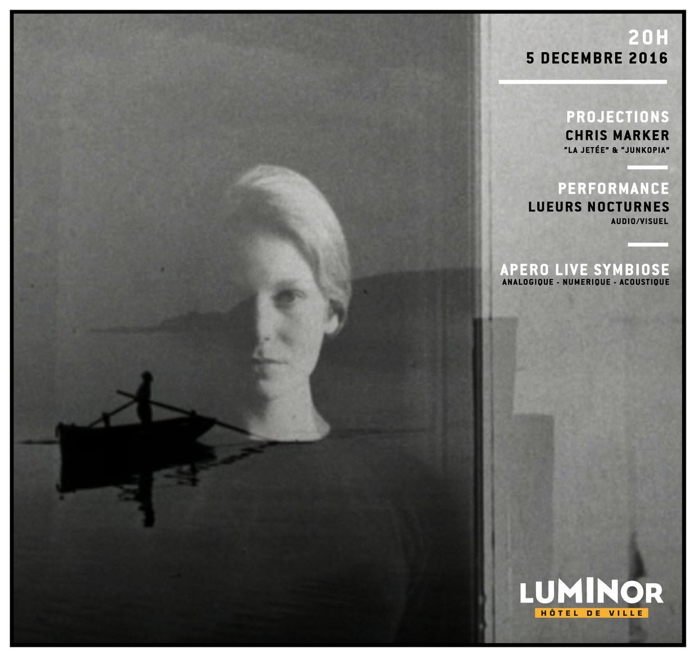 Photo du film La Jetée // Junkopia // Lueurs Nocturnes